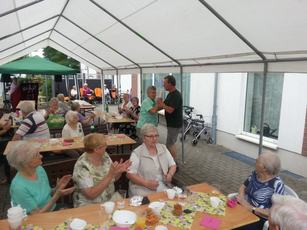 Seniorenwohnanlage Burg - Jubiläum 2016